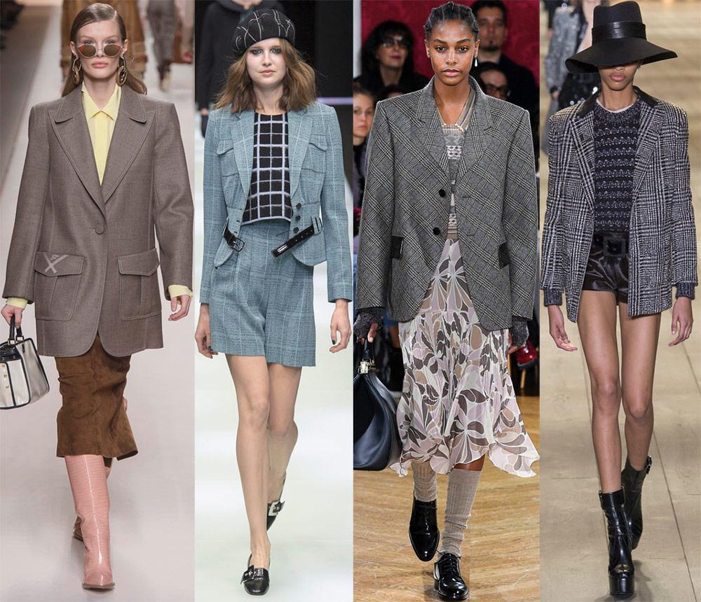 Модные жакеты осень-зима 2019 года