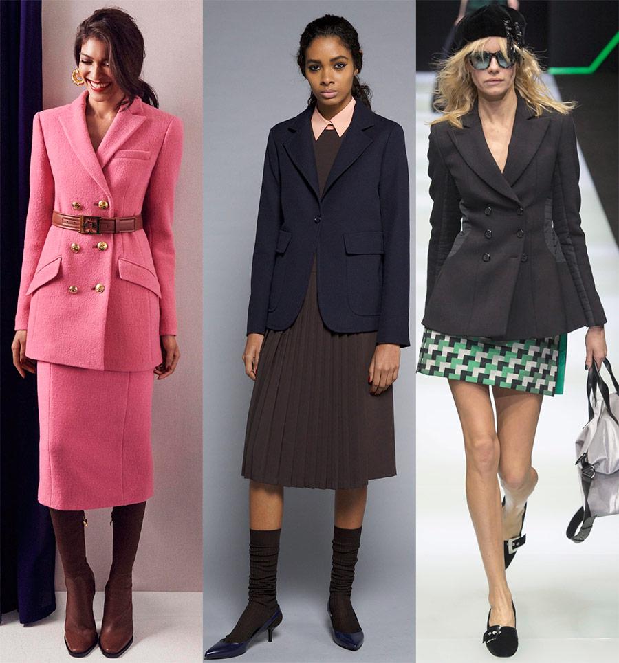 Модные пиджаки и жакеты 2019