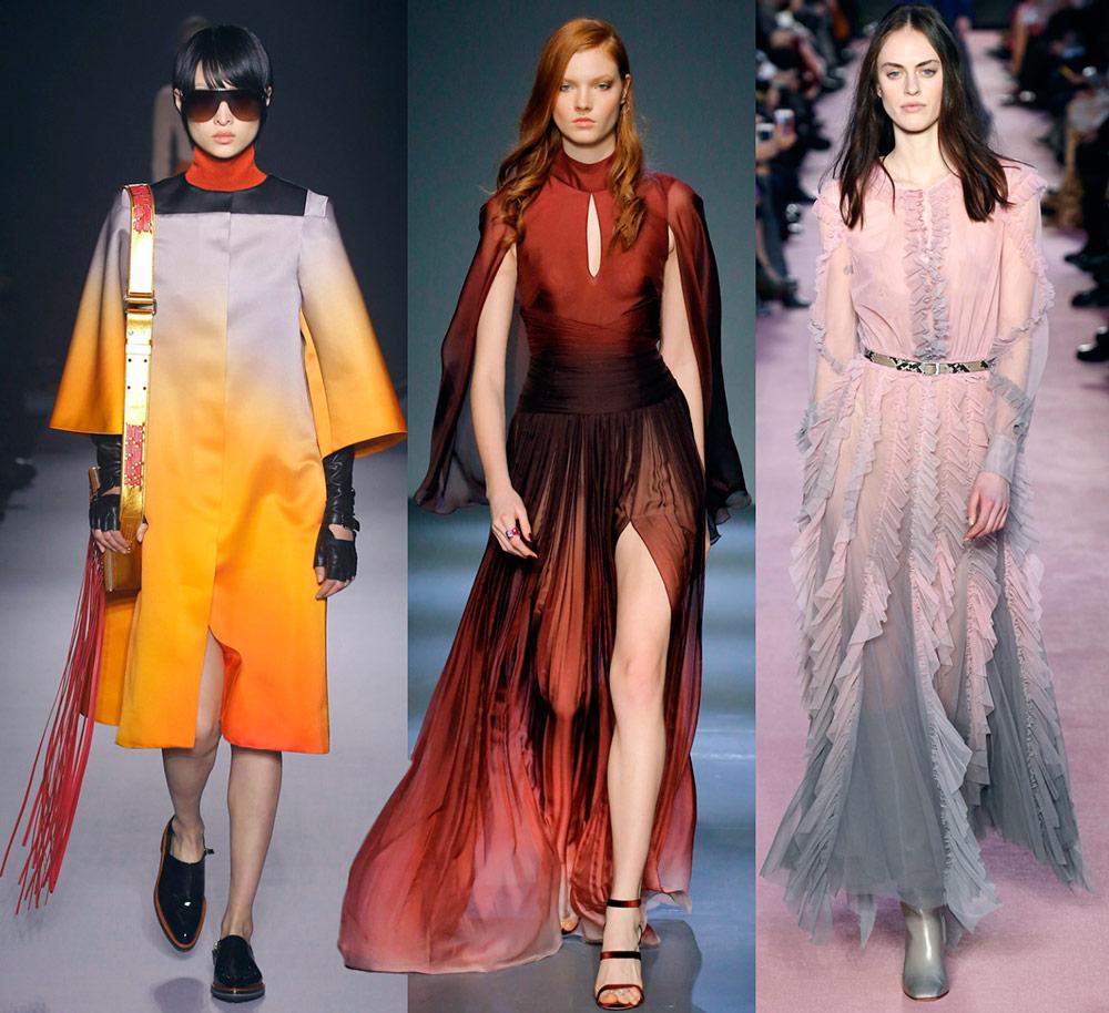 Kecerunan adalah trend fesyen.