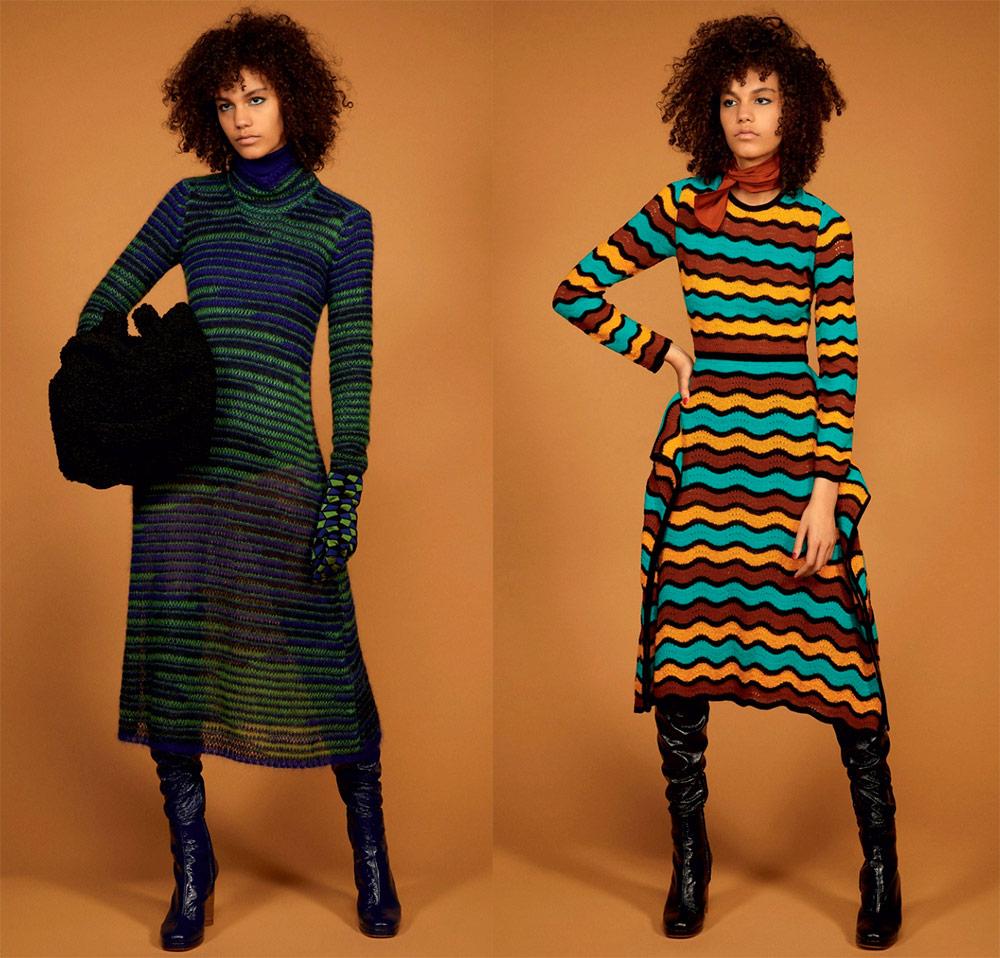 Вязаное платье Missoni