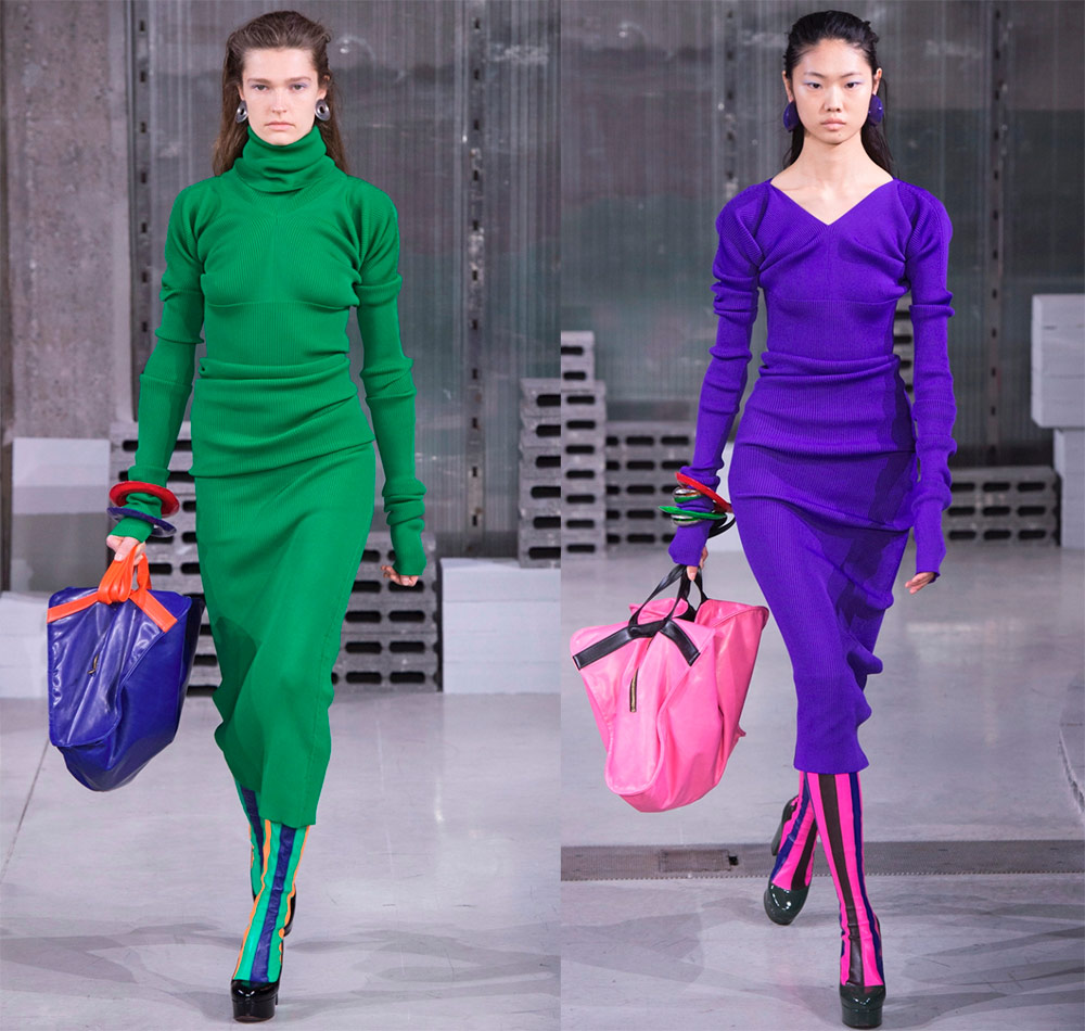 Вязаное платье Marni