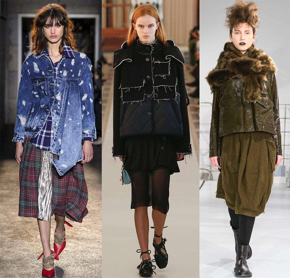 2018-2019 moda qadın ceketləri