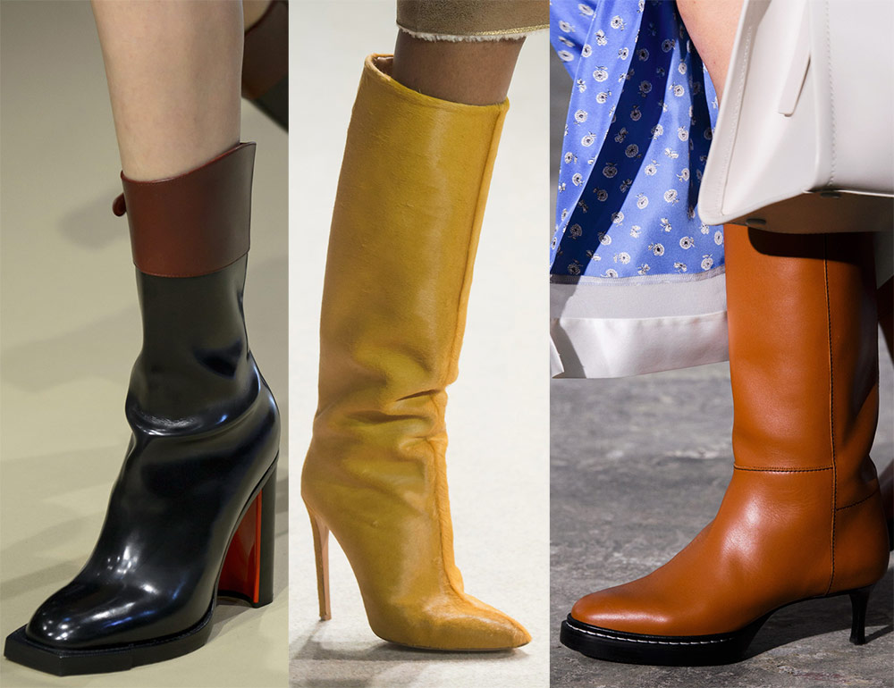 Модные и стильные женские сапоги осень-зима 2018-2019 4303b82e9ab