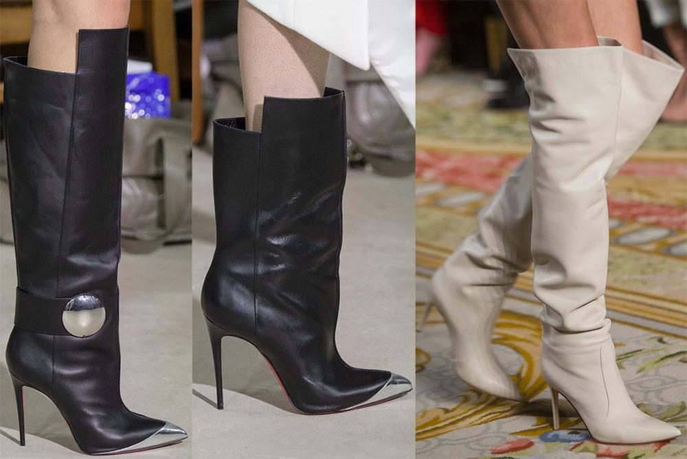 Выбираем модные женские сапоги сезона весна 2019 рекомендации