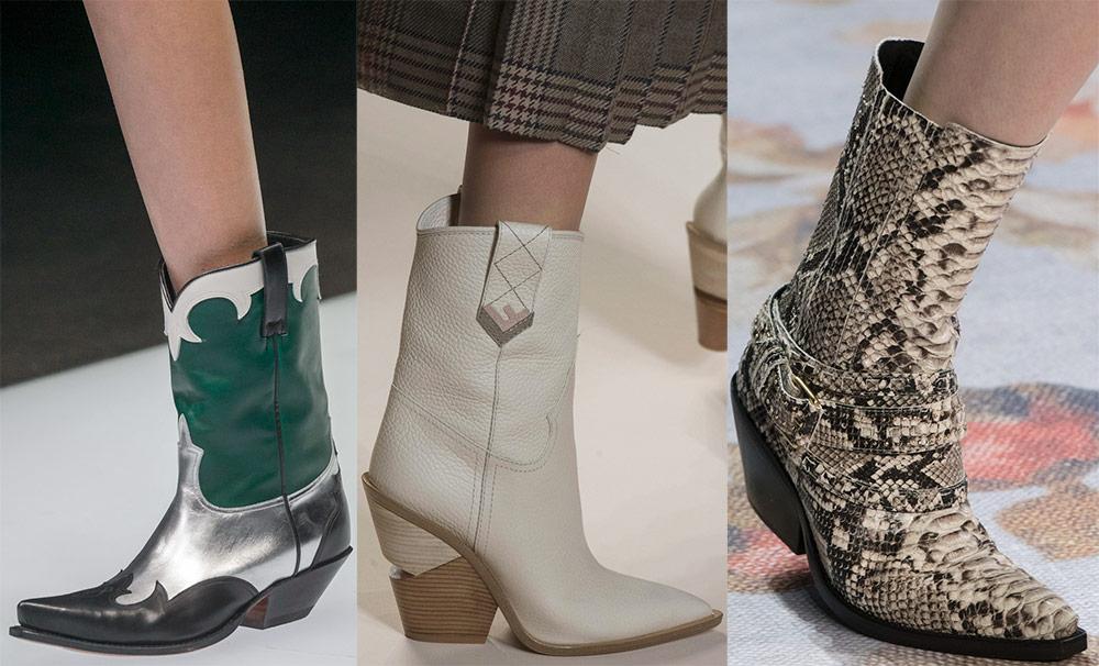 Botas de moda y con estilo de las colecciones 2018-2019