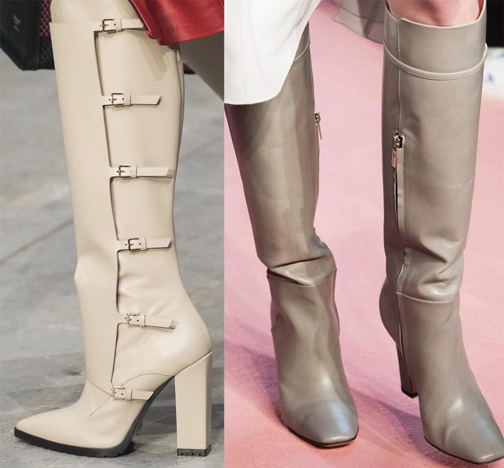 Високи ракави чизми