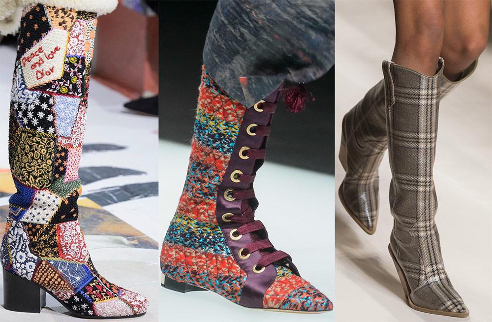 Botas de textil