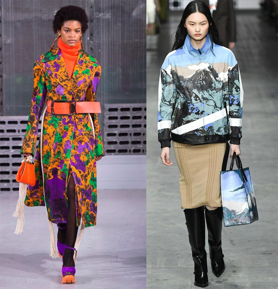 модные принты на одежде 2018-2019