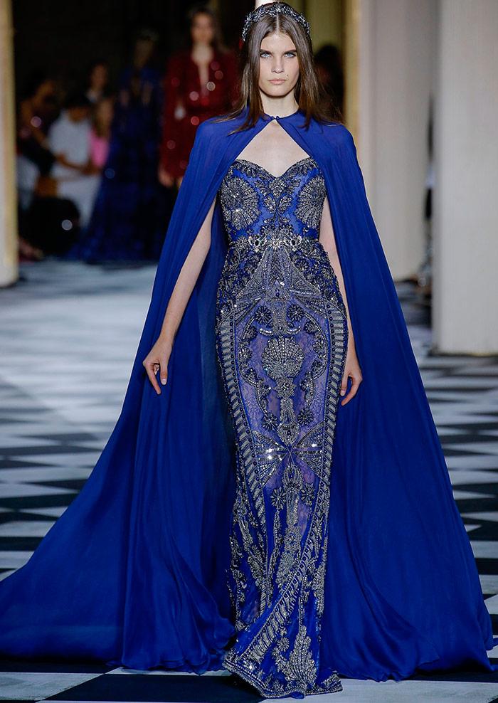 Синие платья 2018-2019
