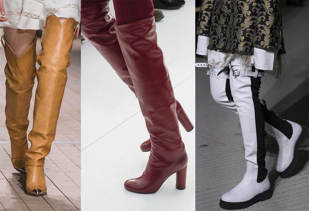 Женски високи чизми