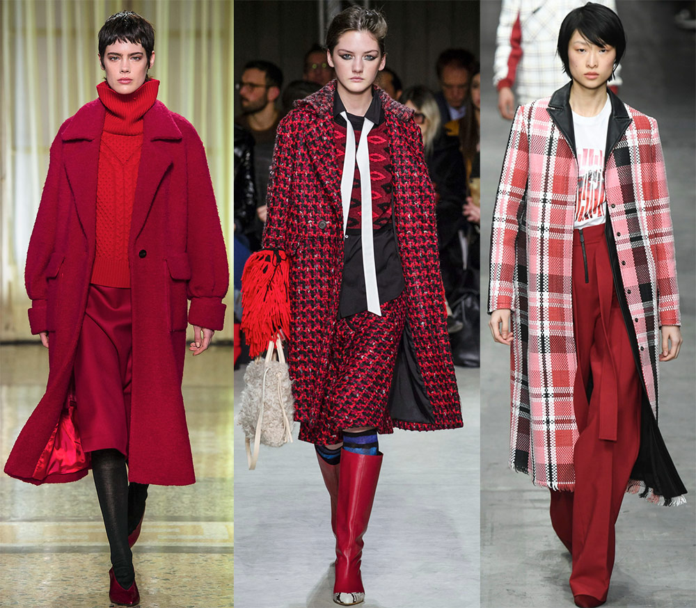 Comment porter un manteau rouge