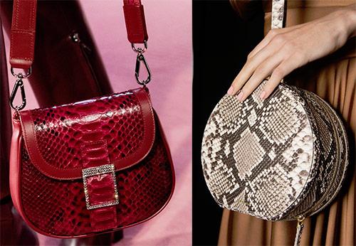 6bfac7ea5c29 Тигровые сумки и модные тенденции Женские сумки из змеиной кожи 2018-2019