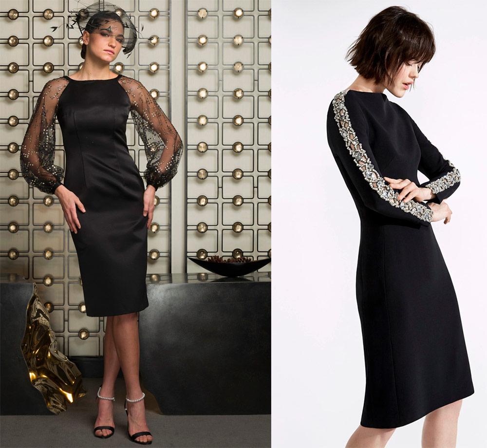 Liten svart kjole