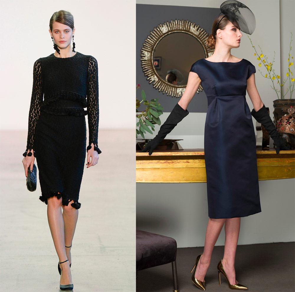 Lille sort kjole