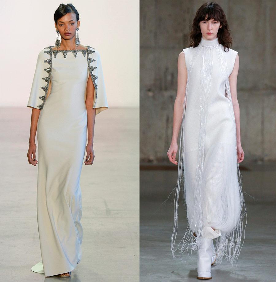 لباس های زیبا سفید