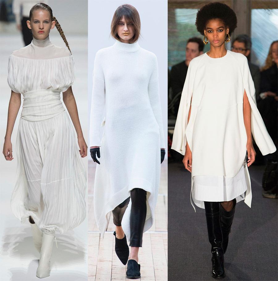 لباس های مد لباس سفید 2018-2019