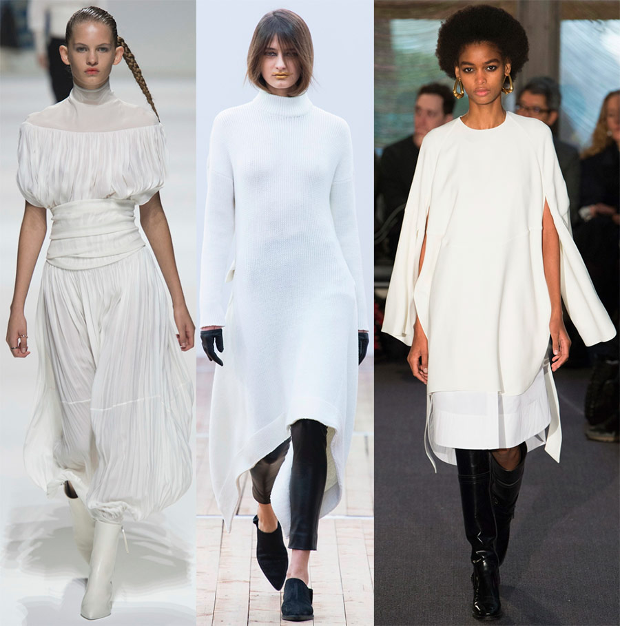 Gaun Putih Bergaya 2018-2019