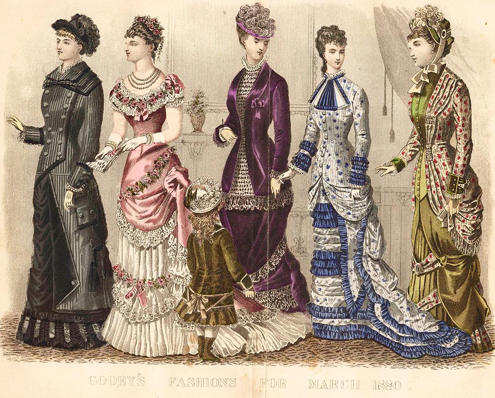 Мода и стиль 1880 годов – история костюма