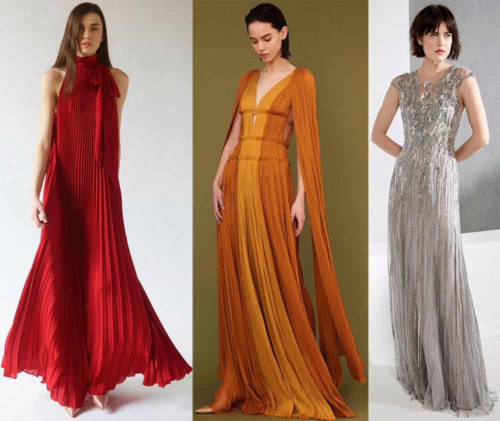 Večernje haljine na podu za Novu godinu