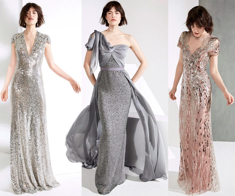 Вечерние платья в пол на Новый год