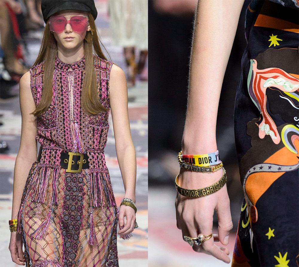 Gelang Fesyen Kristal Dior