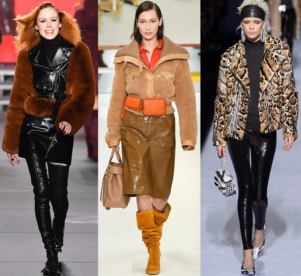 29 лучших меховых курток 2018-2019 года