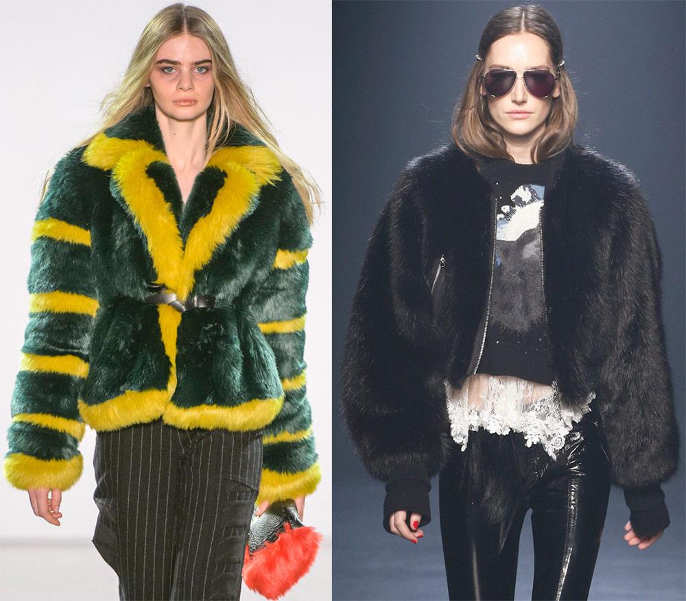 Красивые меховые куртки 2019