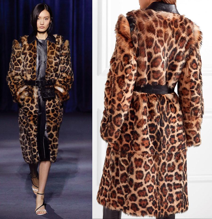 Леопардовое пальто 2019