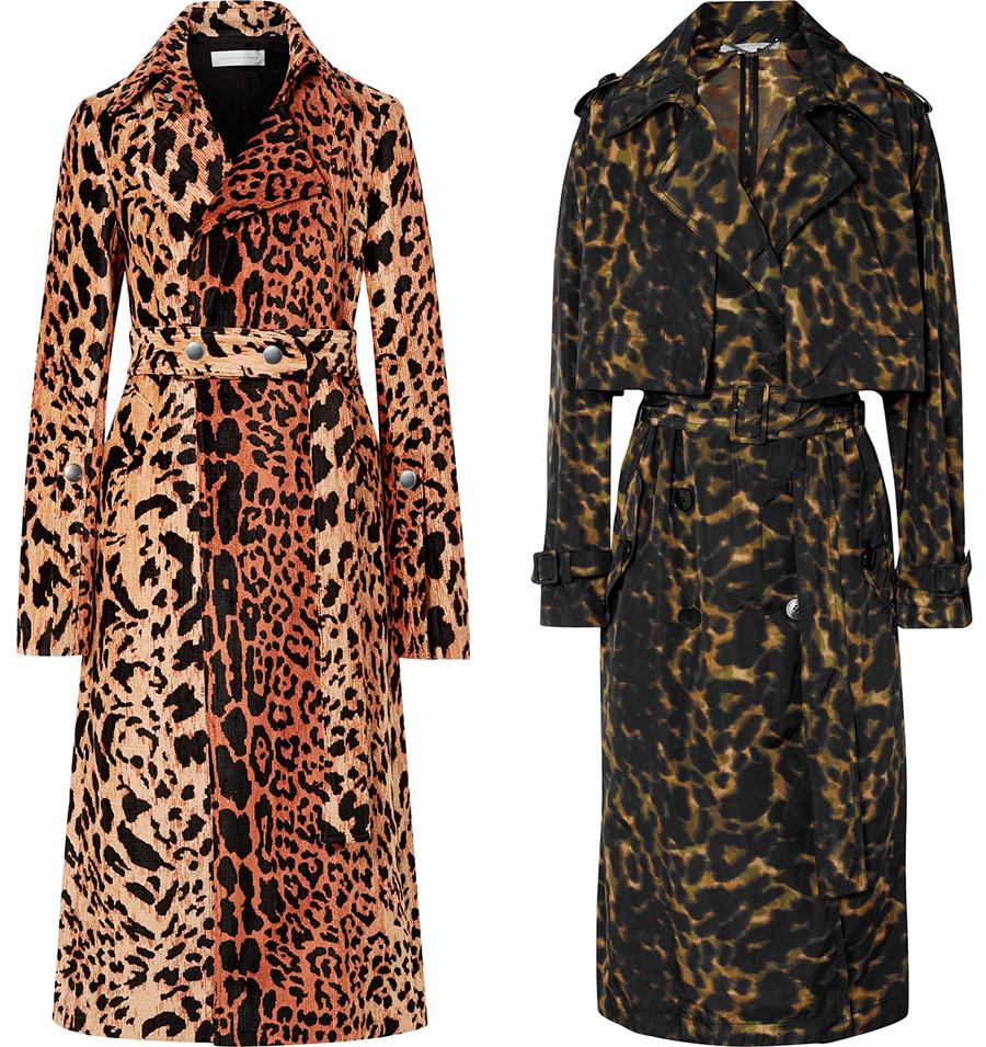 Модные леопардовые пальто 2019