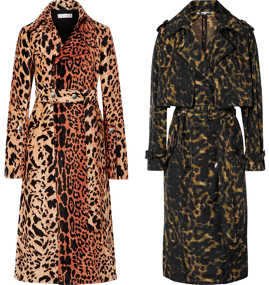 Fashionable leopard coat 2019