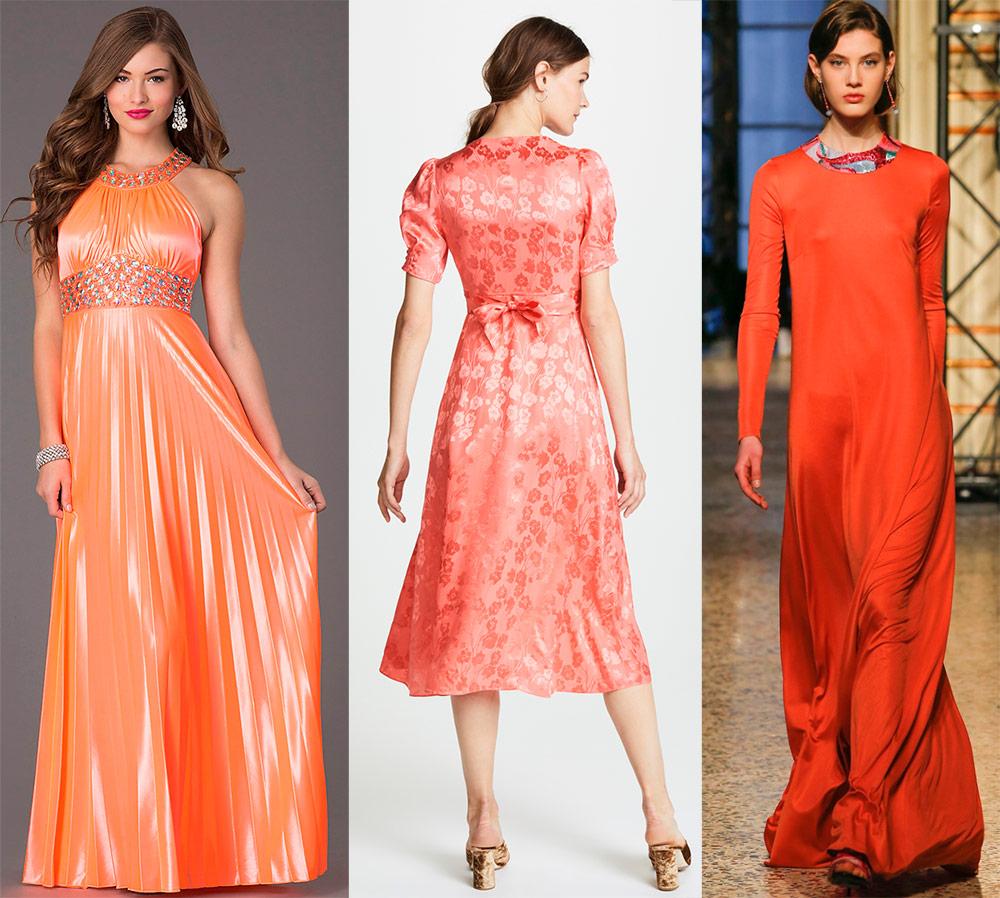 Почему сейчас надо купить платье кораллового цвета