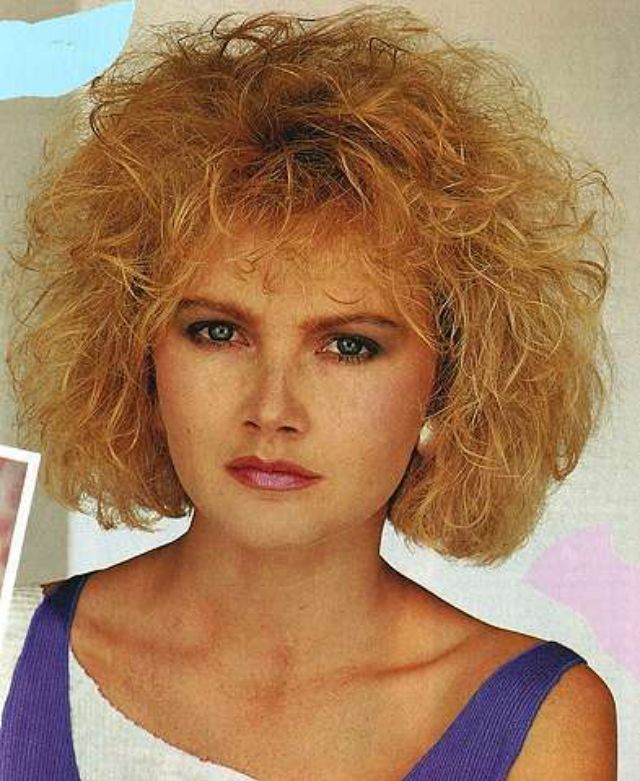 Женские прически 1980-х