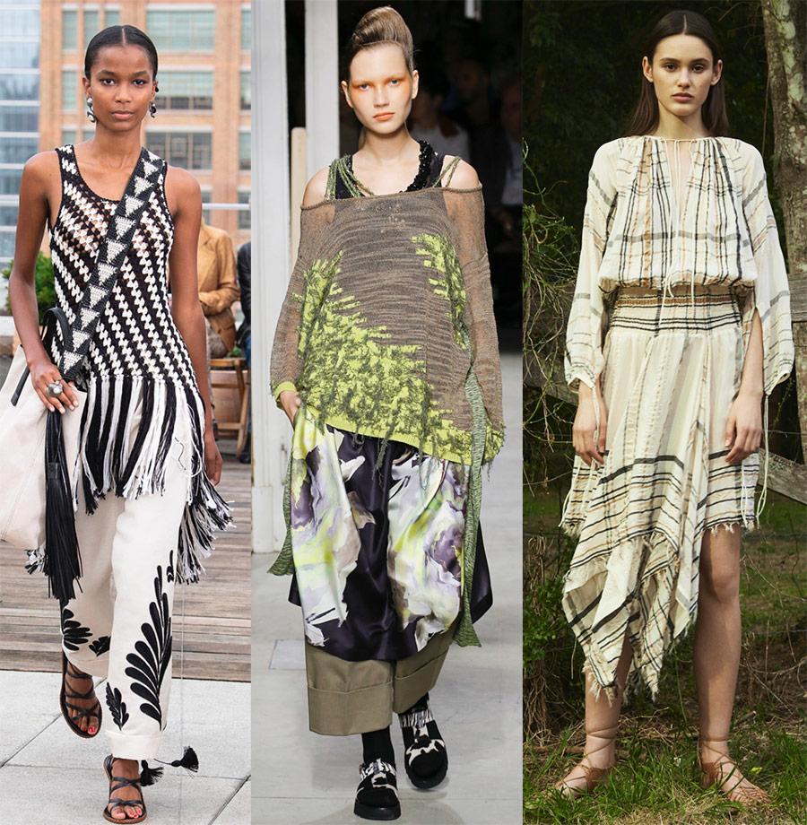 Бохо стиль в 2019 году и модные тенденции