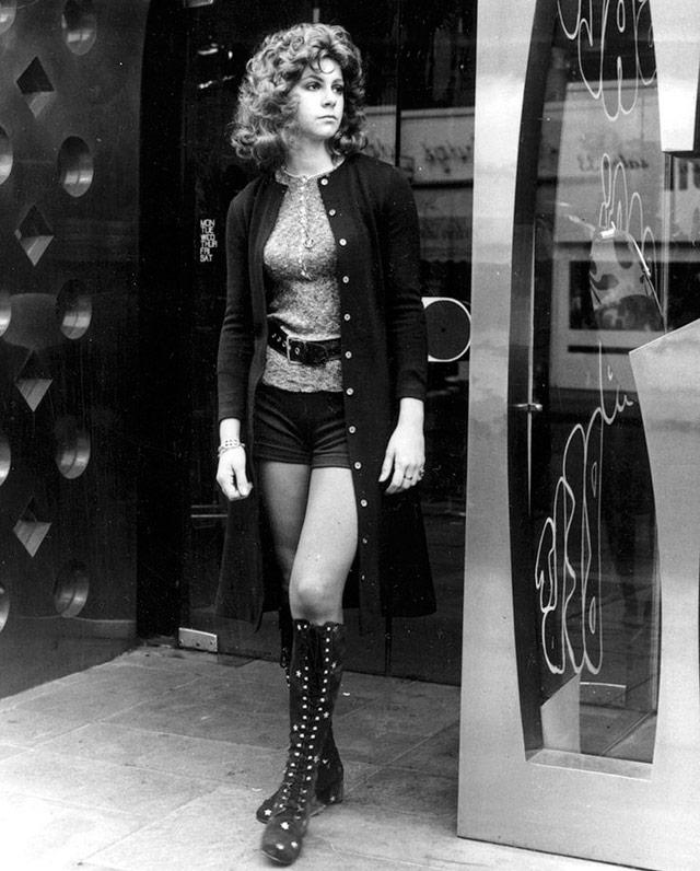 16 фото - смелые образы девушек 1970 годов