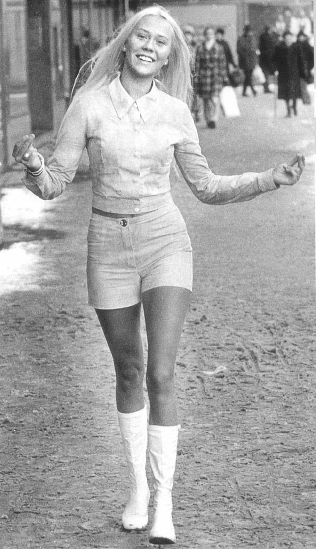 Женская мода 1970е годы