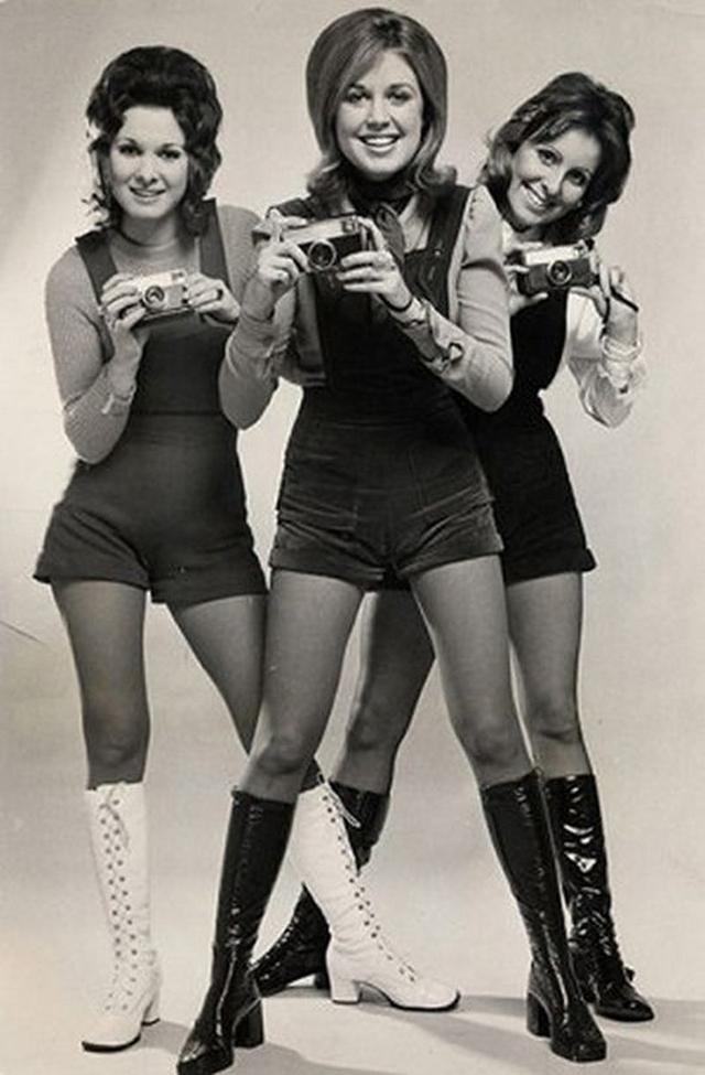 Короткие шорты фото 1970 годов