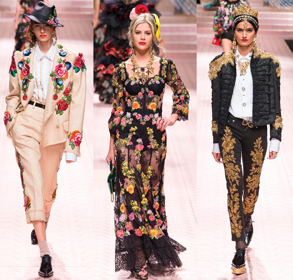 Цветы модная тенденция