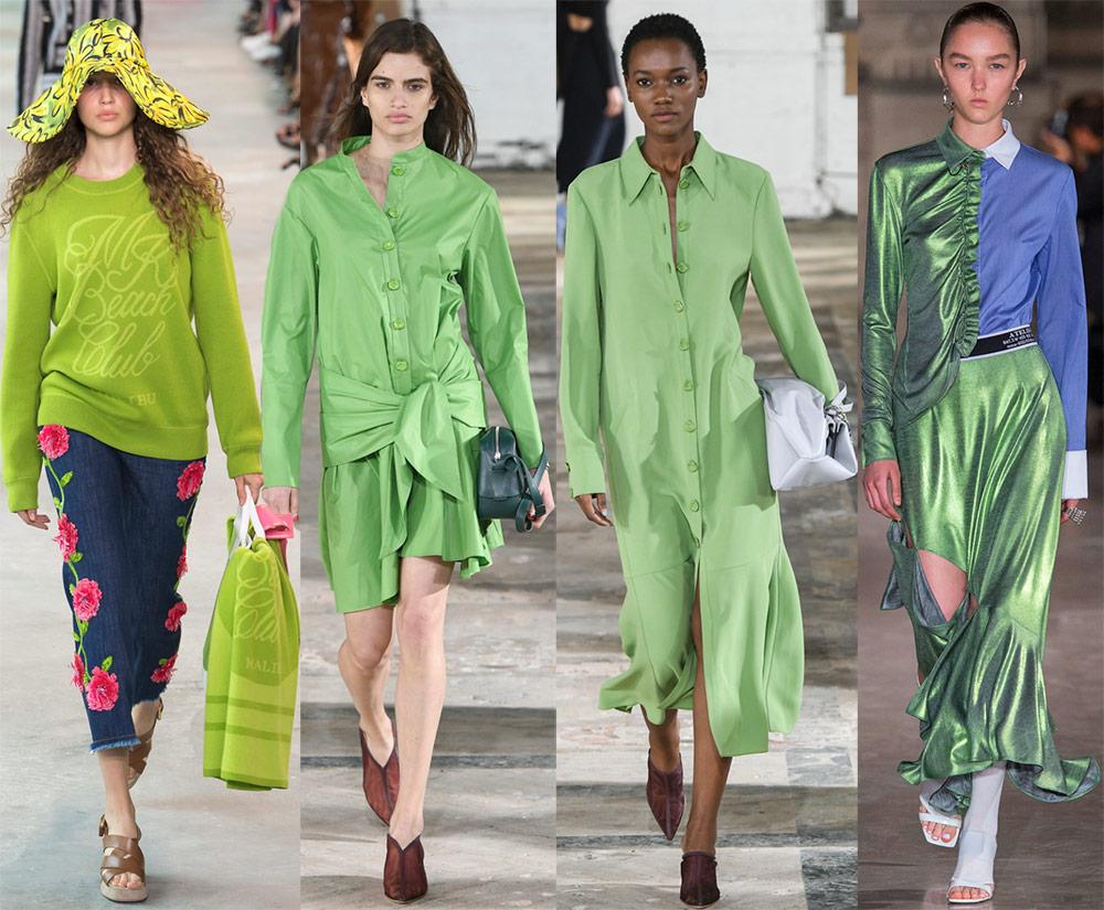 Модные цвета 2019 года – лучшие образы