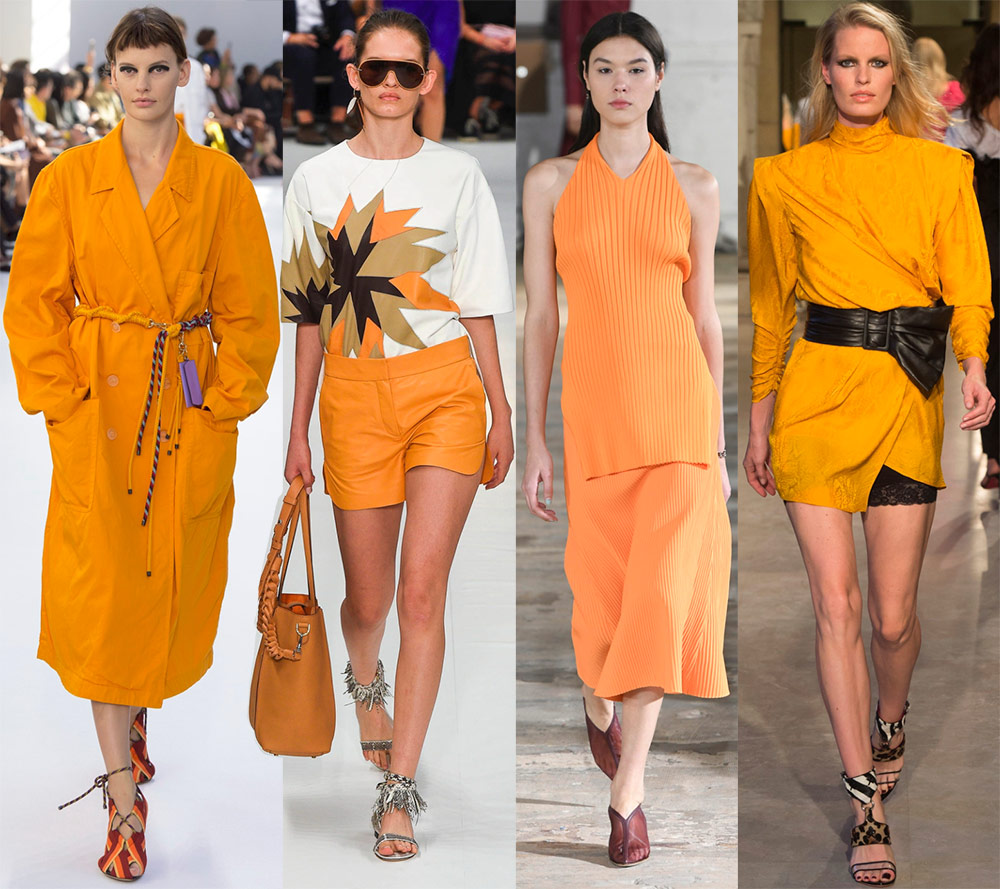 Модные цвета и оттенки 2019 года