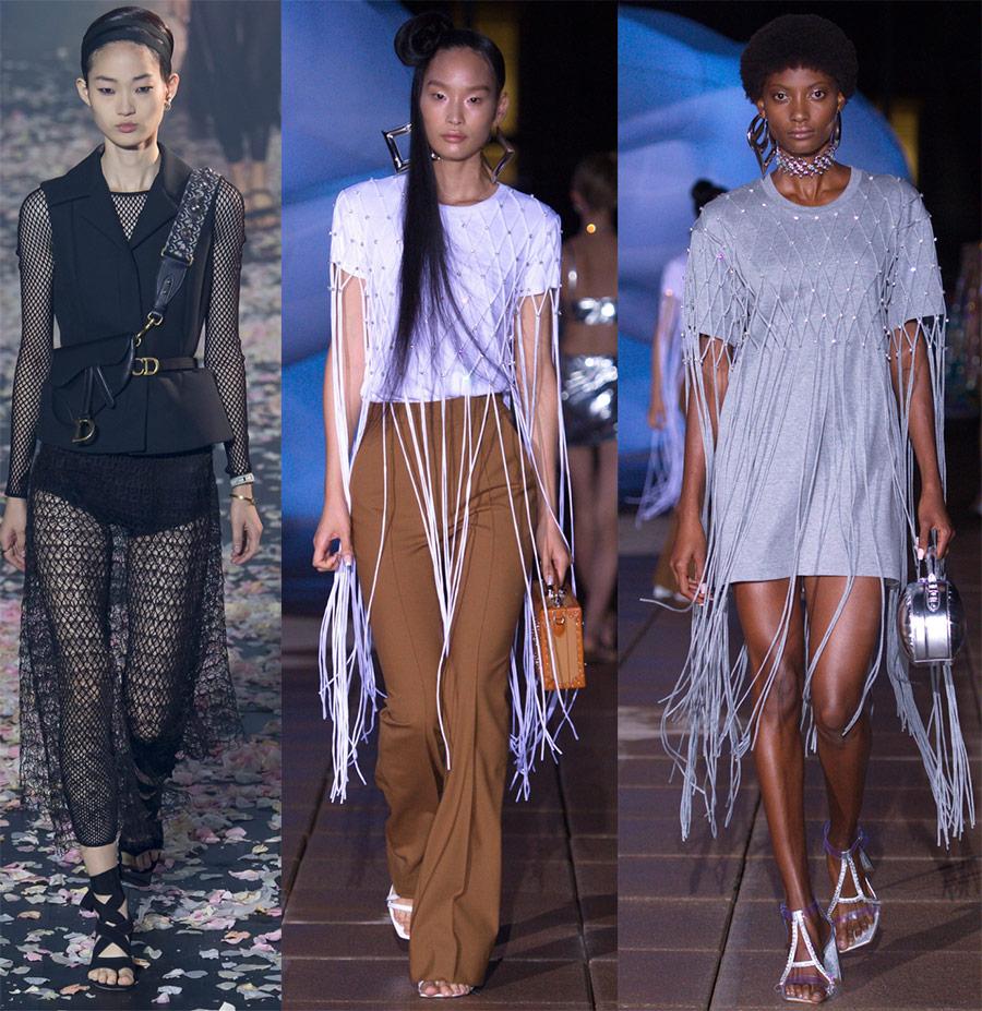 Одежда из сетки – модная тенденция