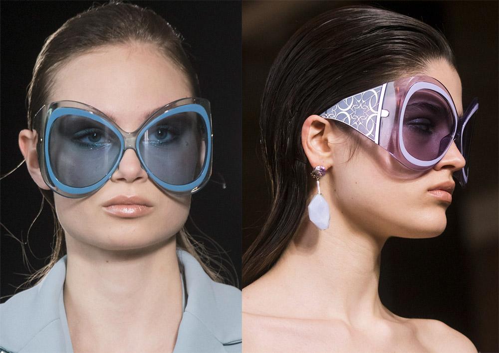 Солнцезащитные очки в полоску 2019