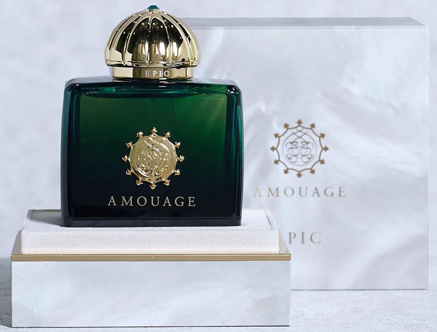 Amouage Epic Woman – аромат для шикарных женщин