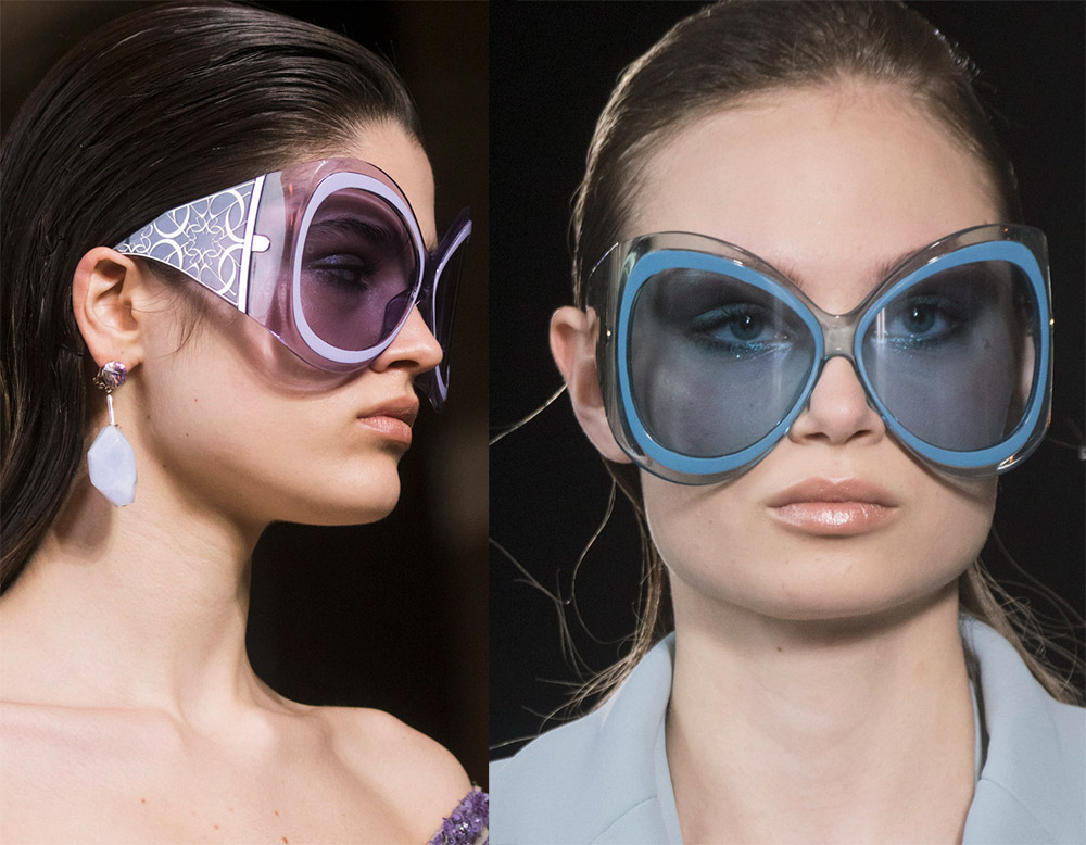 Солнцезащитные очки в полоску 2019 в 2019 году