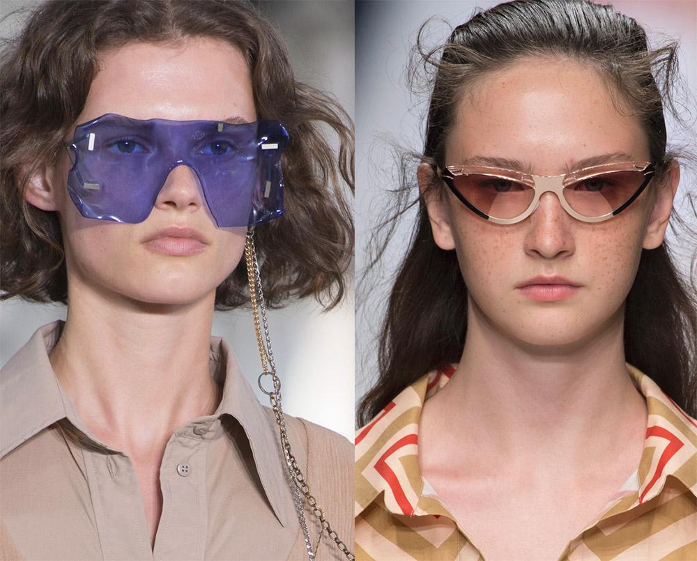 Солнцезащитные очки в полоску 2019 изоражения
