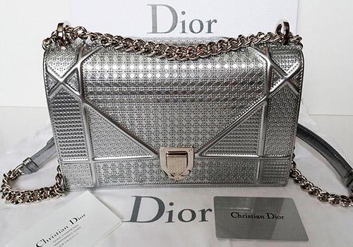 Модные и красивые сумки цвета серебристый металлик