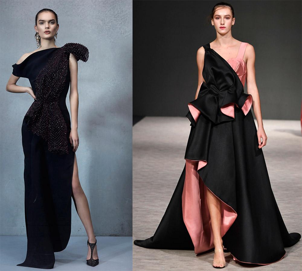 558d90a526b358c Модные вечерние платья черного цвета 2019 года | Genezis