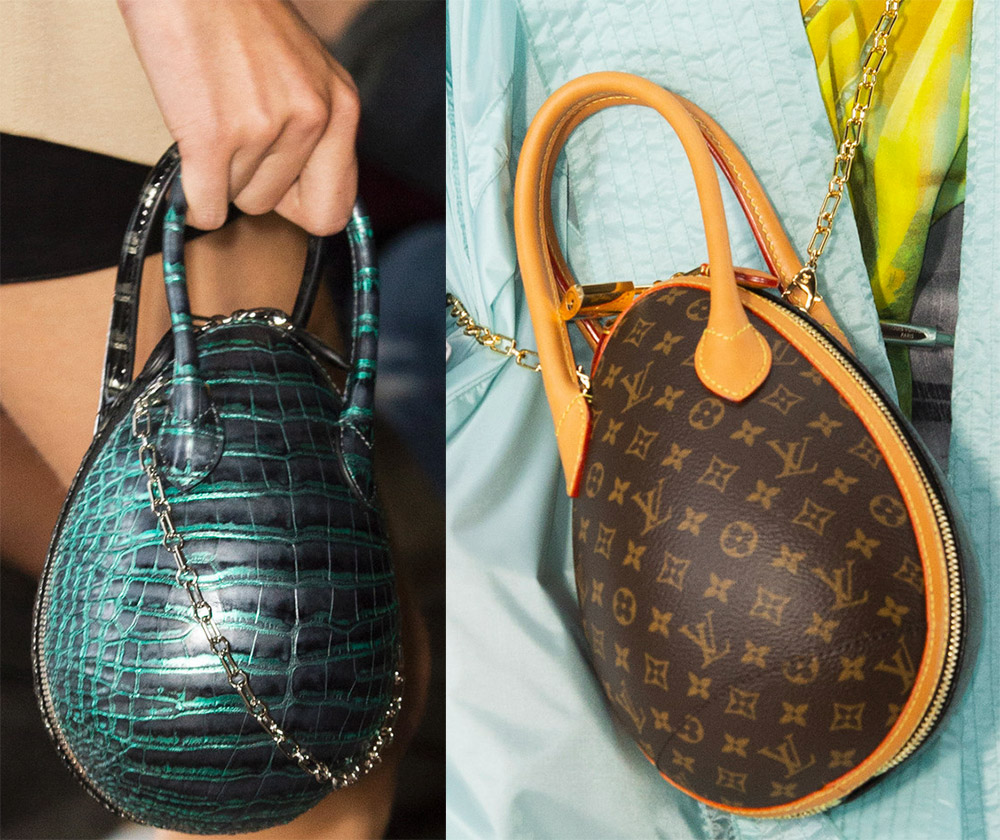 Круглые сумки Louis Vuitton