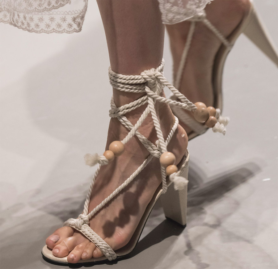 Модная женская обувь весна-лето 2019