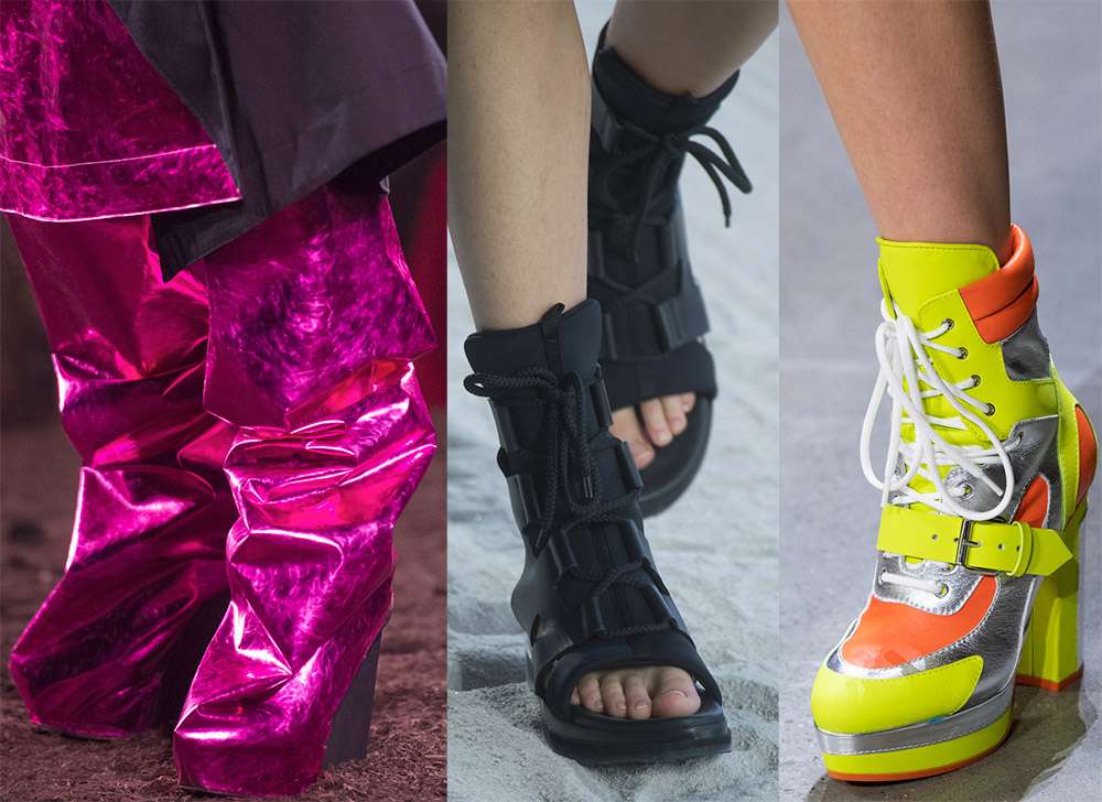 Модные тренды в обуви