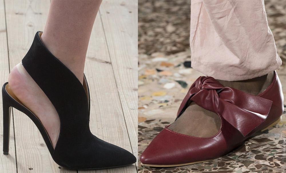 Остроносая обувь 2019